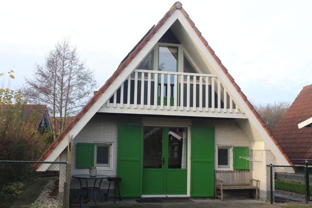6 pers.Vakantiehuisje te huur met Sauna nabij Lauwersmeer