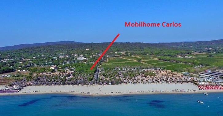 Mobilhomes te huur St Aygulf/ Frejus en St Tropez