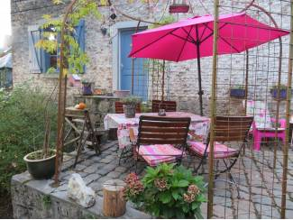 Belgie Romantische cottage DURBUY geweldig uitzicht omh.tuin honden=ok